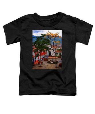 Toddler T-Shirt featuring the photograph Antioquia by Skip Hunt