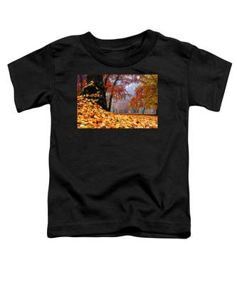 Autumn In The Woodland Toddler T-Shirt