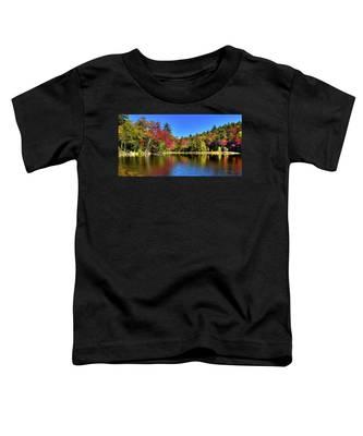 Autumn On 7th Lake Toddler T-Shirt