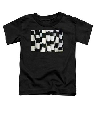Toddler T-Shirt featuring the photograph Blanco Y Negro by Skip Hunt