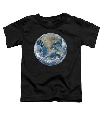 Blue Marble 2012 Planet Earth Toddler T-Shirt
