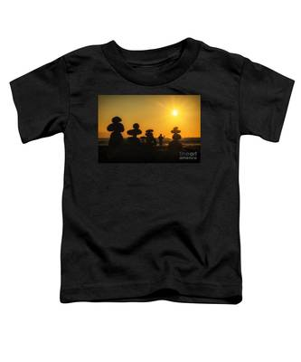 Boulders By The Sea Toddler T-Shirt