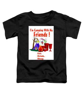 Camping T Shirt Toddler T-Shirt