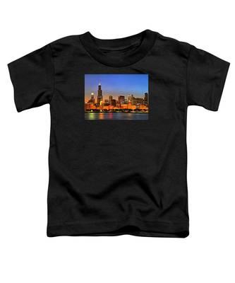 Chicago Dusk Toddler T-Shirt