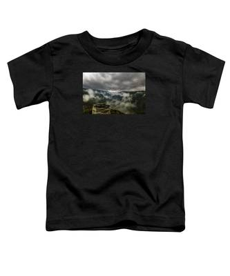 Clouds Rising At Lindy Point Toddler T-Shirt