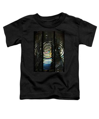 Concentric Glass Prisms - Water Color Toddler T-Shirt
