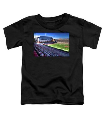 Cougar Football Complex At Martin Stadium Toddler T-Shirt
