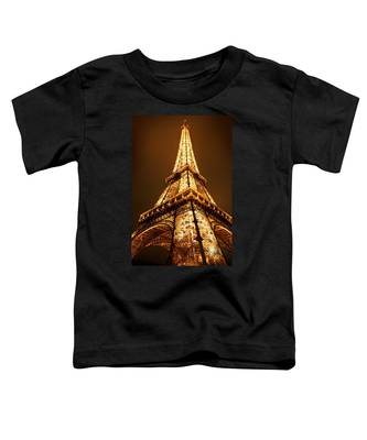 Toddler T-Shirt featuring the photograph Eiffel by Skip Hunt