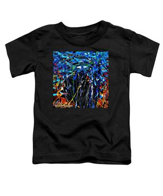 Eye In The Sky And Water Toddler T-Shirt