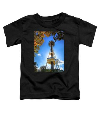 Fall Day At The Space Needle Toddler T-Shirt