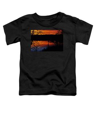 Fall Sunset Toddler T-Shirt