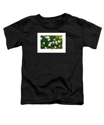 Field Of Daisies Toddler T-Shirt