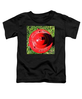 Fire Hydrant #8 Toddler T-Shirt