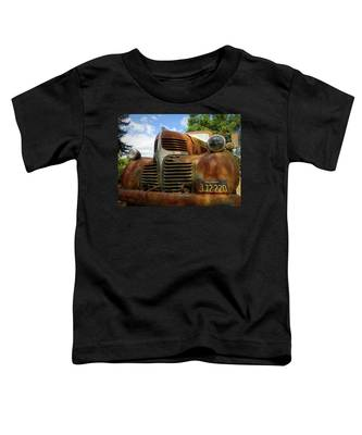Toddler T-Shirt featuring the photograph Grandpa by Skip Hunt