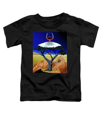 Happy Hour At The Midreal Cypress Toddler T-Shirt