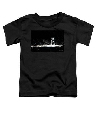 Horses And Men In Rain Toddler T-Shirt
