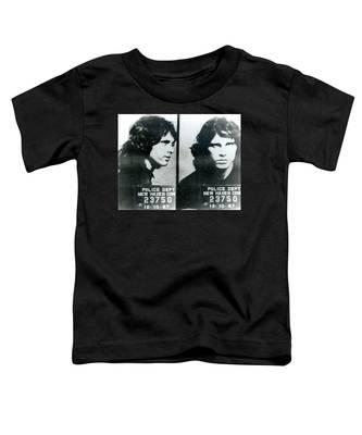 Jim Morrison Mug Shot Horizontal Toddler T-Shirt
