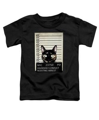 Criminal Toddler T-Shirts