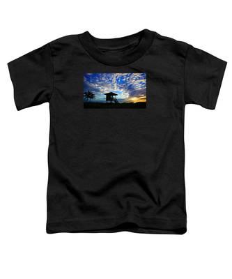 Lifeguard Station Sunrise Toddler T-Shirt