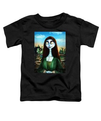 Mona Lisa Toddler T-Shirt