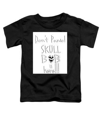 Skull Bob Toddler T-Shirt