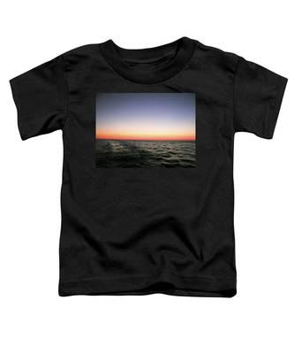 Orange And Black Toddler T-Shirt