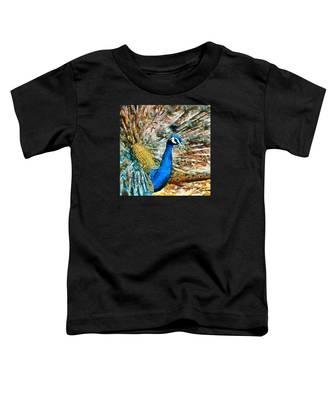 Proud As A Peacock Toddler T-Shirt