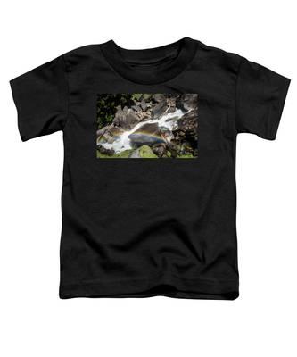 Rainbow At Vernal Falls- Toddler T-Shirt