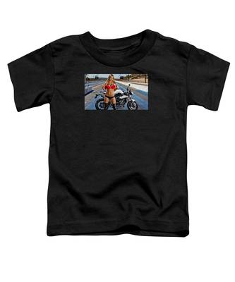 Red Is Not Always For Ducati Toddler T-Shirt