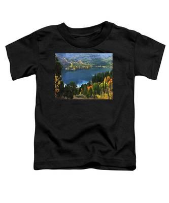 Rock Creek Lake In Fall Toddler T-Shirt