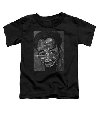 Shane In Black And White Toddler T-Shirt