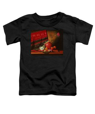 Still Life With Red Vase. Toddler T-Shirt