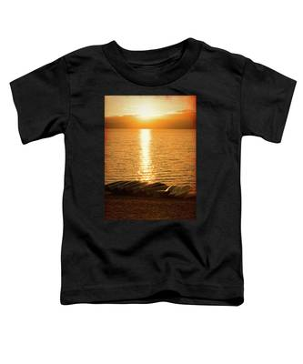 Sunset On Quinault Toddler T-Shirt