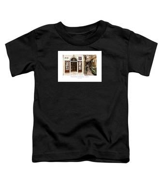 Tobaconist In Kerkyra - Corfu Toddler T-Shirt