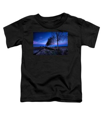 Twilight And Trees Toddler T-Shirt