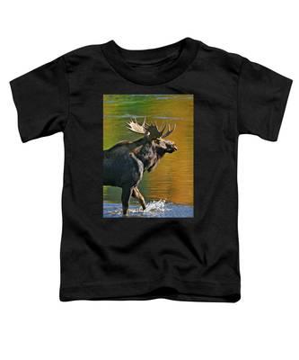 Wading Moose Toddler T-Shirt