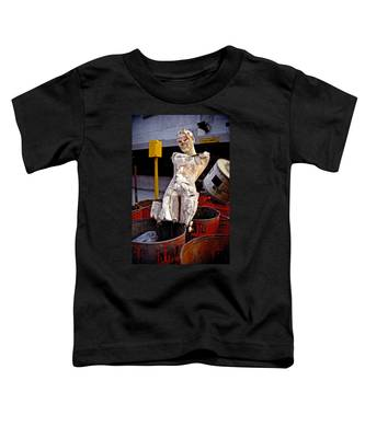 Toddler T-Shirt featuring the photograph White Trash by Skip Hunt