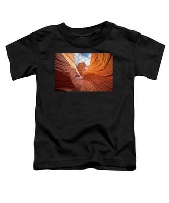 Winding Stripes Of Sandstone Toddler T-Shirt