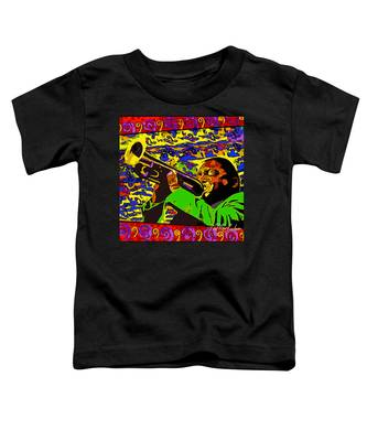 Wynton Marsalis Plays Louis Armstrong Rework Toddler T-Shirt