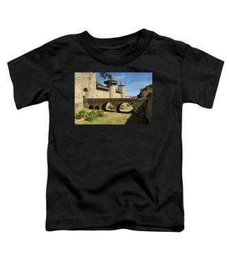 Bridge At Carcassonne Toddler T-Shirt