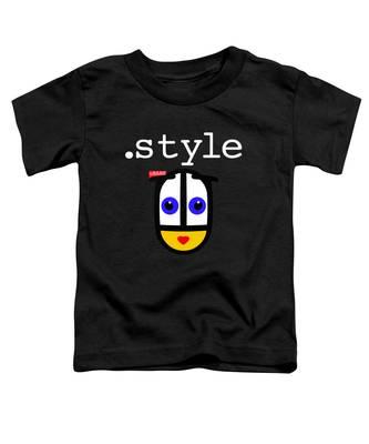 Black Style Ubabe Toddler T-Shirt
