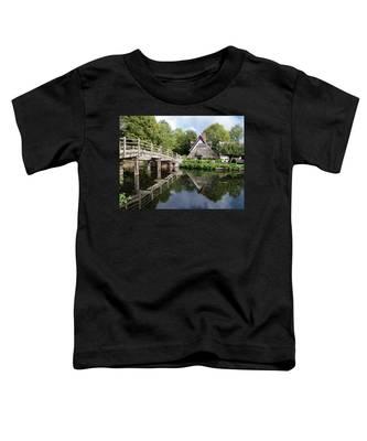 Bridge Cottage, Flatford Toddler T-Shirt