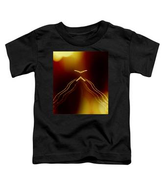 Toddler T-Shirt featuring the photograph Cloaking by Judy Kennedy