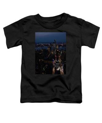 Madison Square Garden At Night Toddler T-Shirt