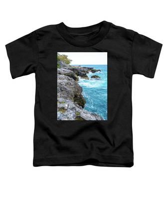 Negril Jamaica Cliffs Toddler T-Shirt