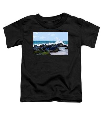 Ocean Meets The Coast Toddler T-Shirt