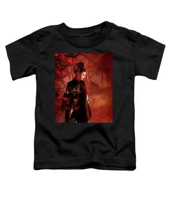 Sakura Red Toddler T-Shirt
