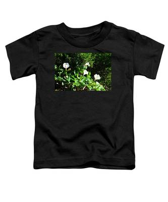 Toddler T-Shirt featuring the photograph Sisters In The Sun by Judy Kennedy
