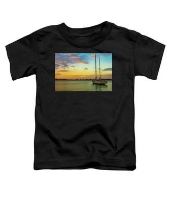 Sunset On The Lagoon Toddler T-Shirt