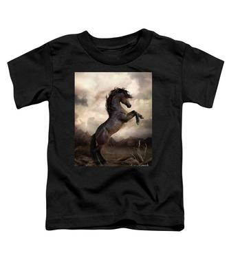 The Bay Horse Toddler T-Shirt